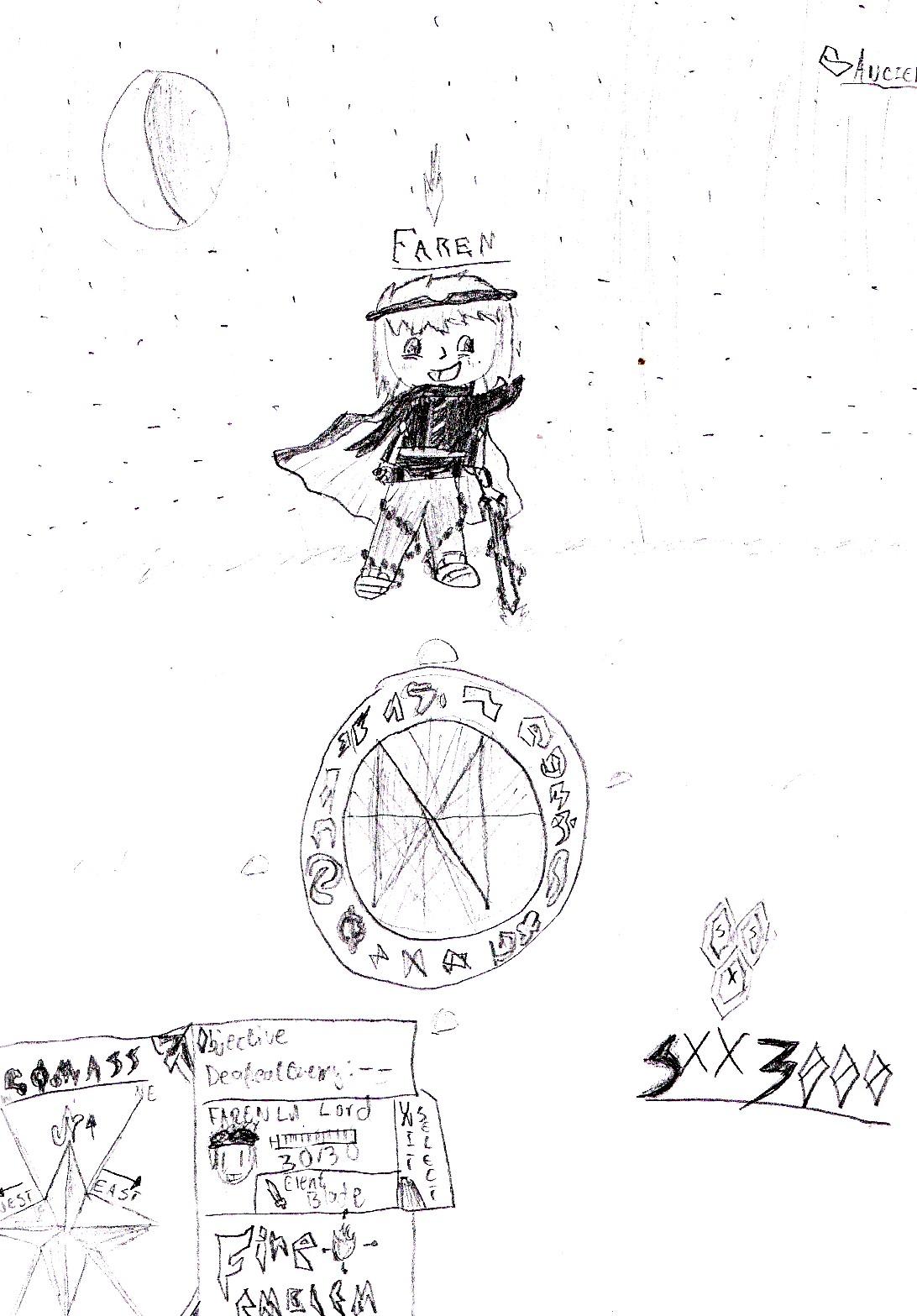 Faren, OC no.1 by SXX3000