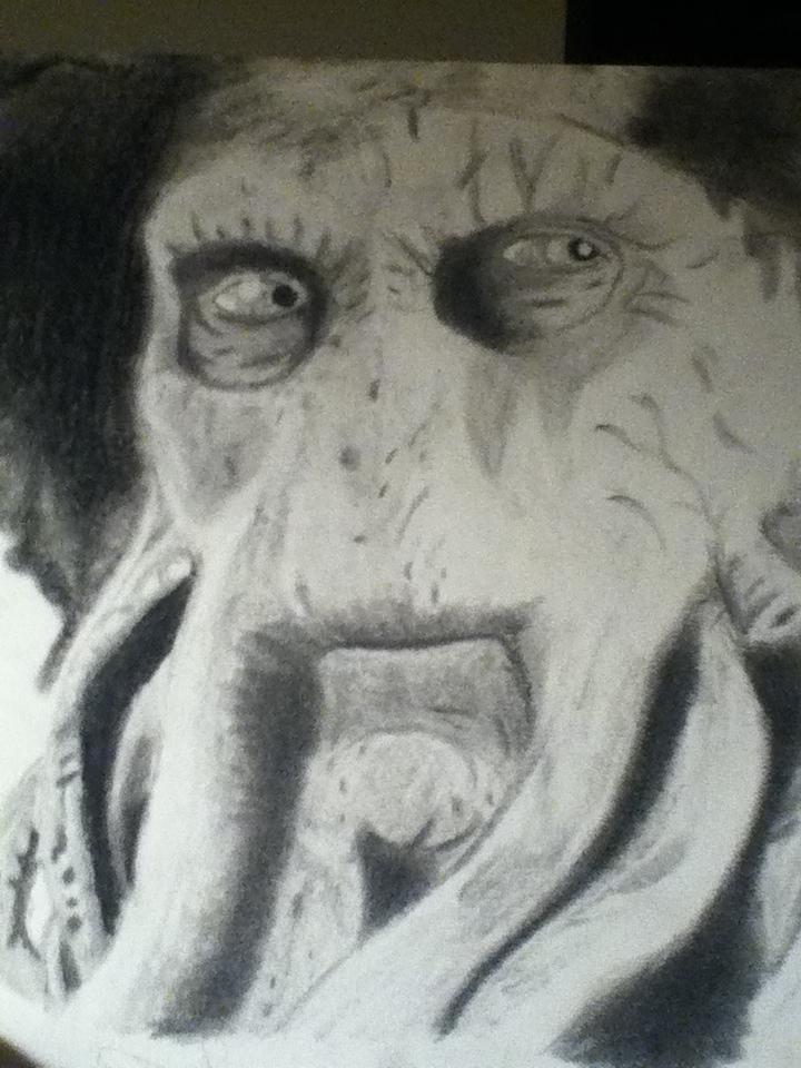 Captian Davy Jones by SacredWolf