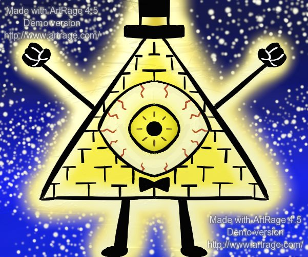 Bill Cipher by SailorSeiyaDigiJem