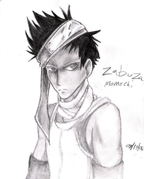 zabuza by Sakunia