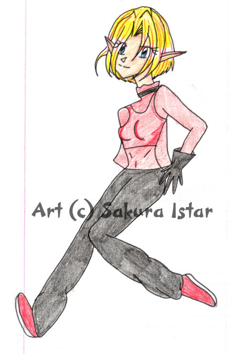 My TLOZ Character by Sakura_Istar