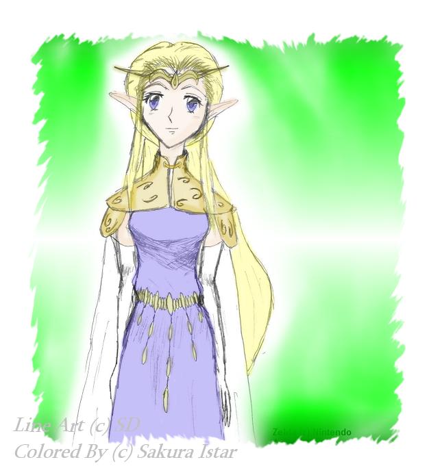 Princess Zelda by Sakura_Istar