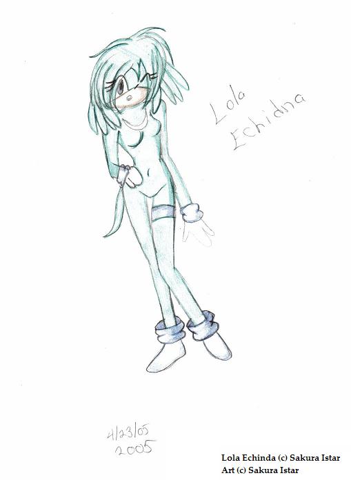 Lola Echidna by Sakura_Istar
