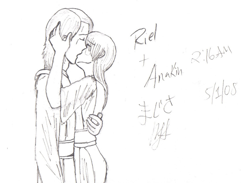 Riel and Anakin by Sakura_Sagara