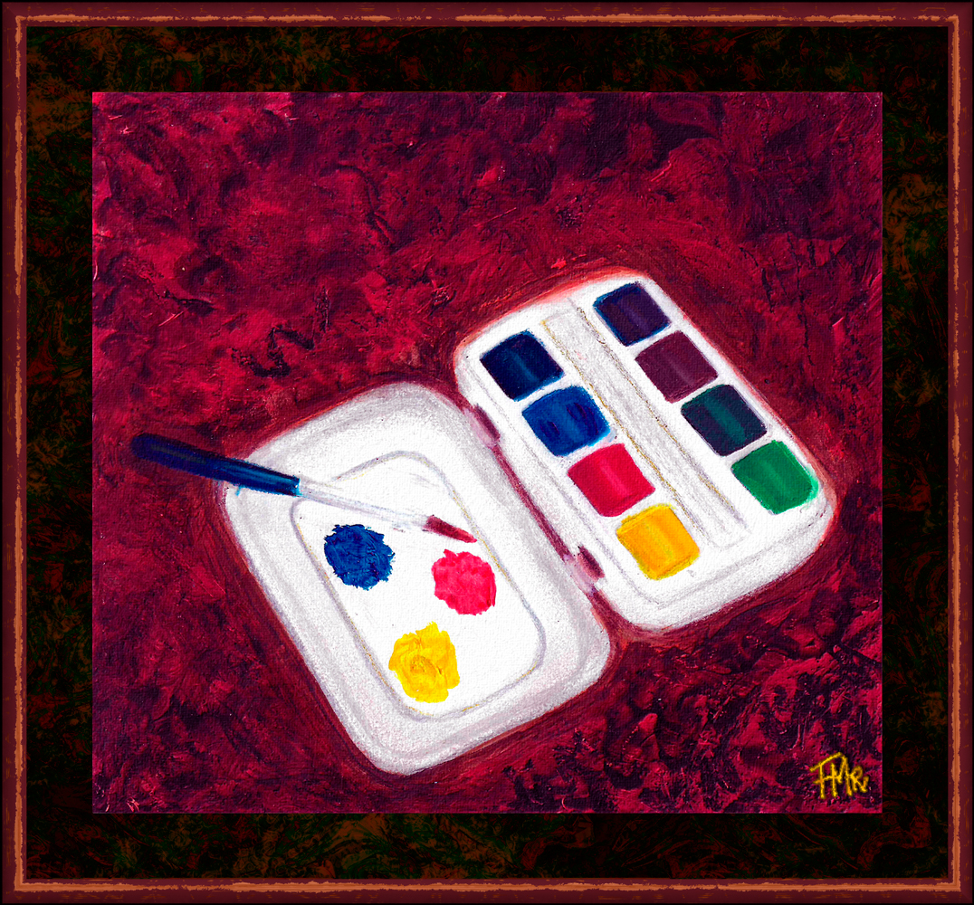 Watercolours Tiny Box by Saltwater