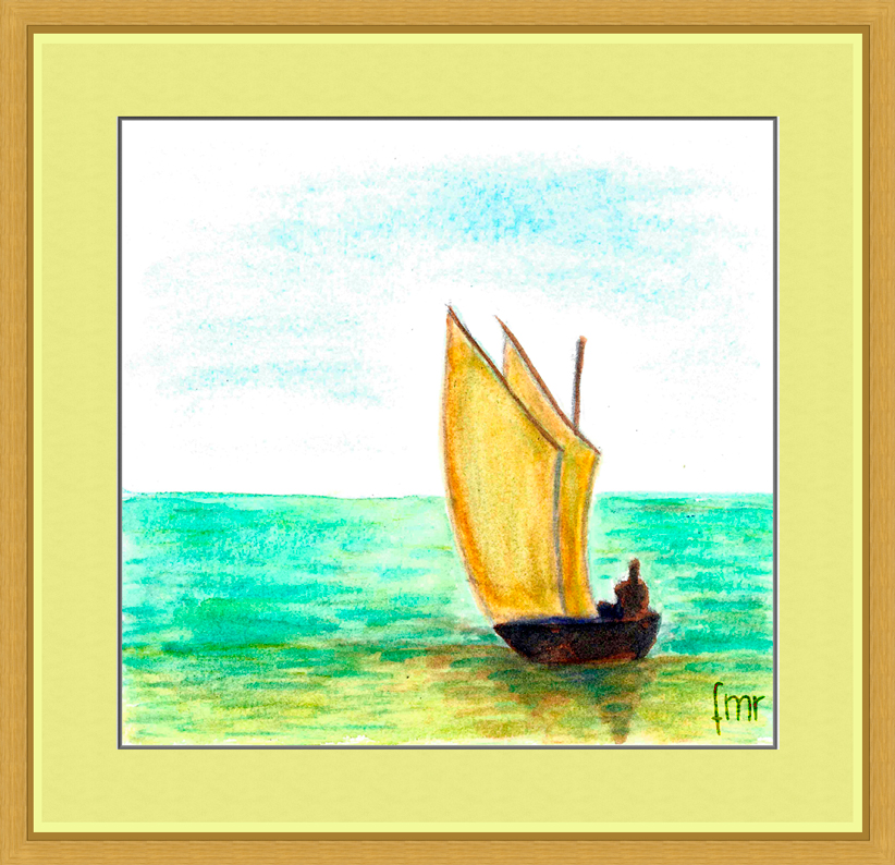 Small Boat by Saltwater