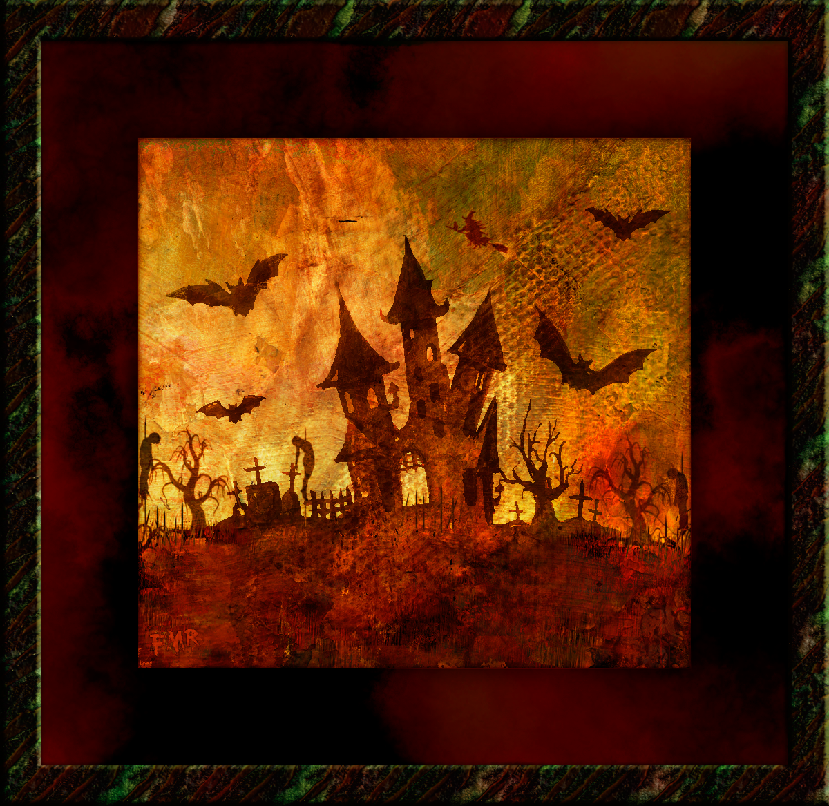 Halloween Scary Night by Saltwater