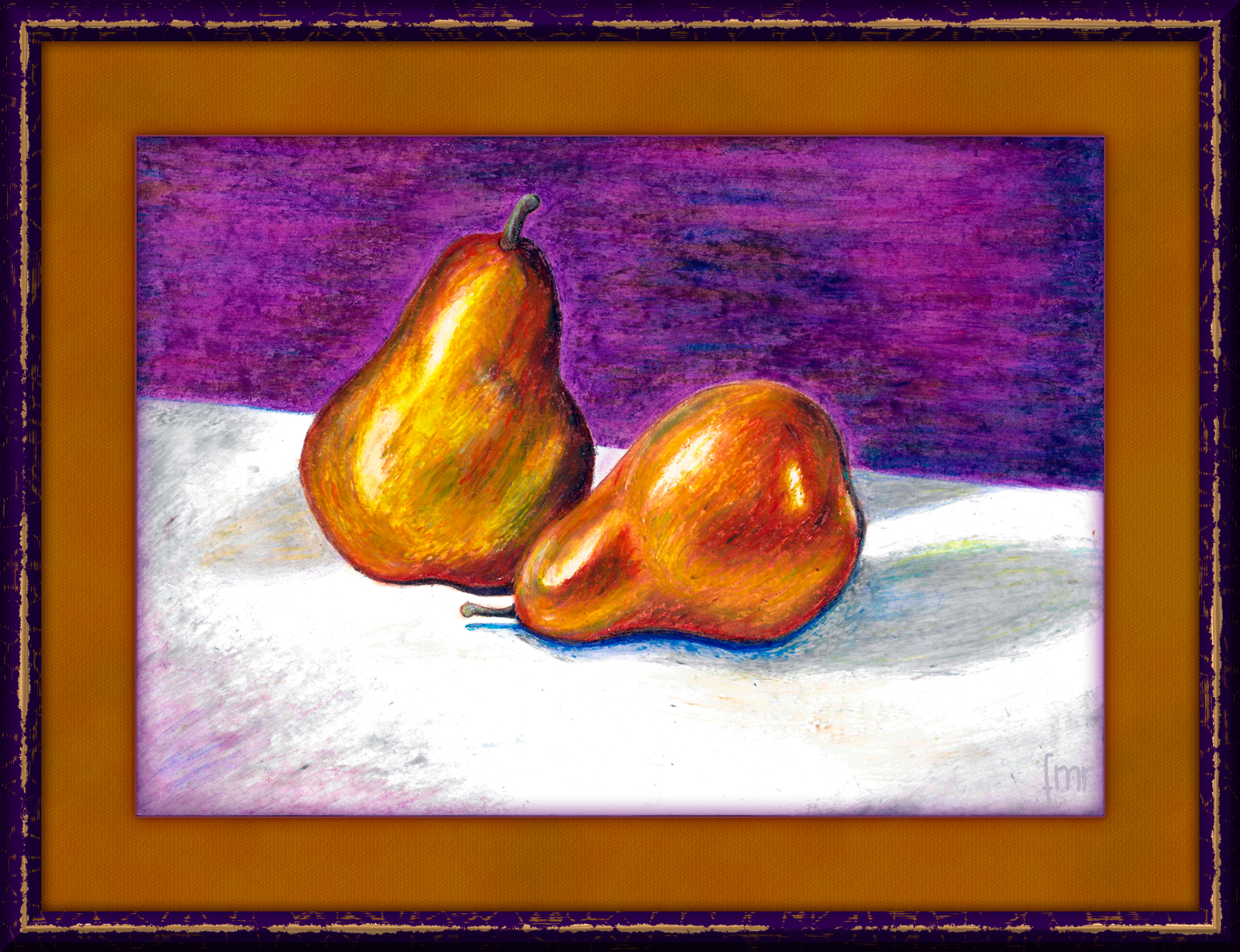 a Pair of Pears by Saltwater