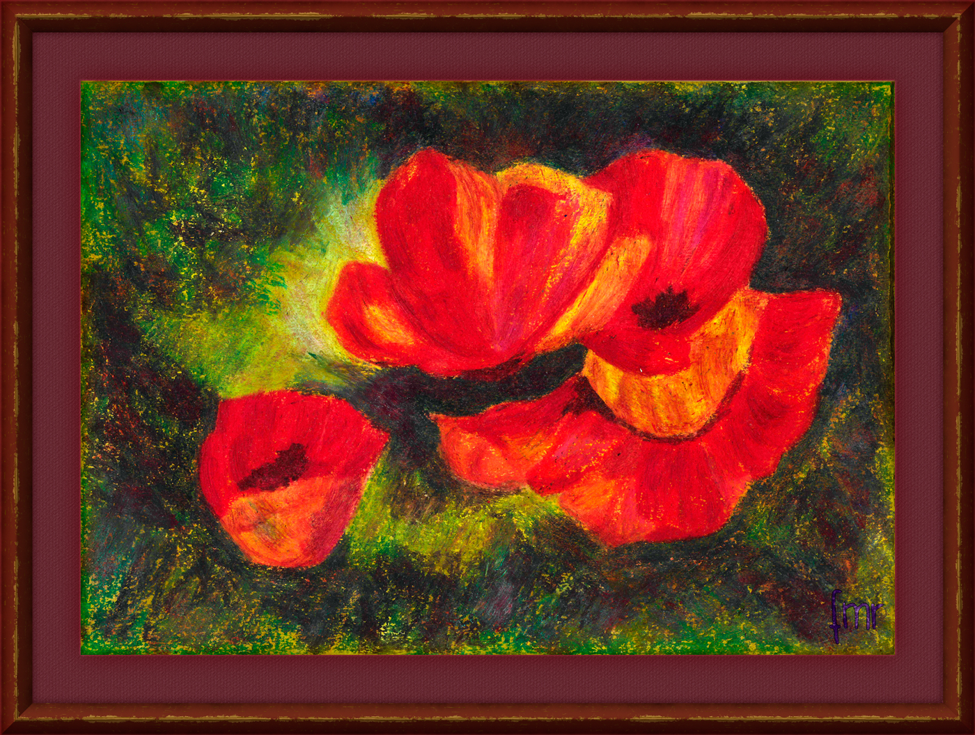 Poppies by Saltwater