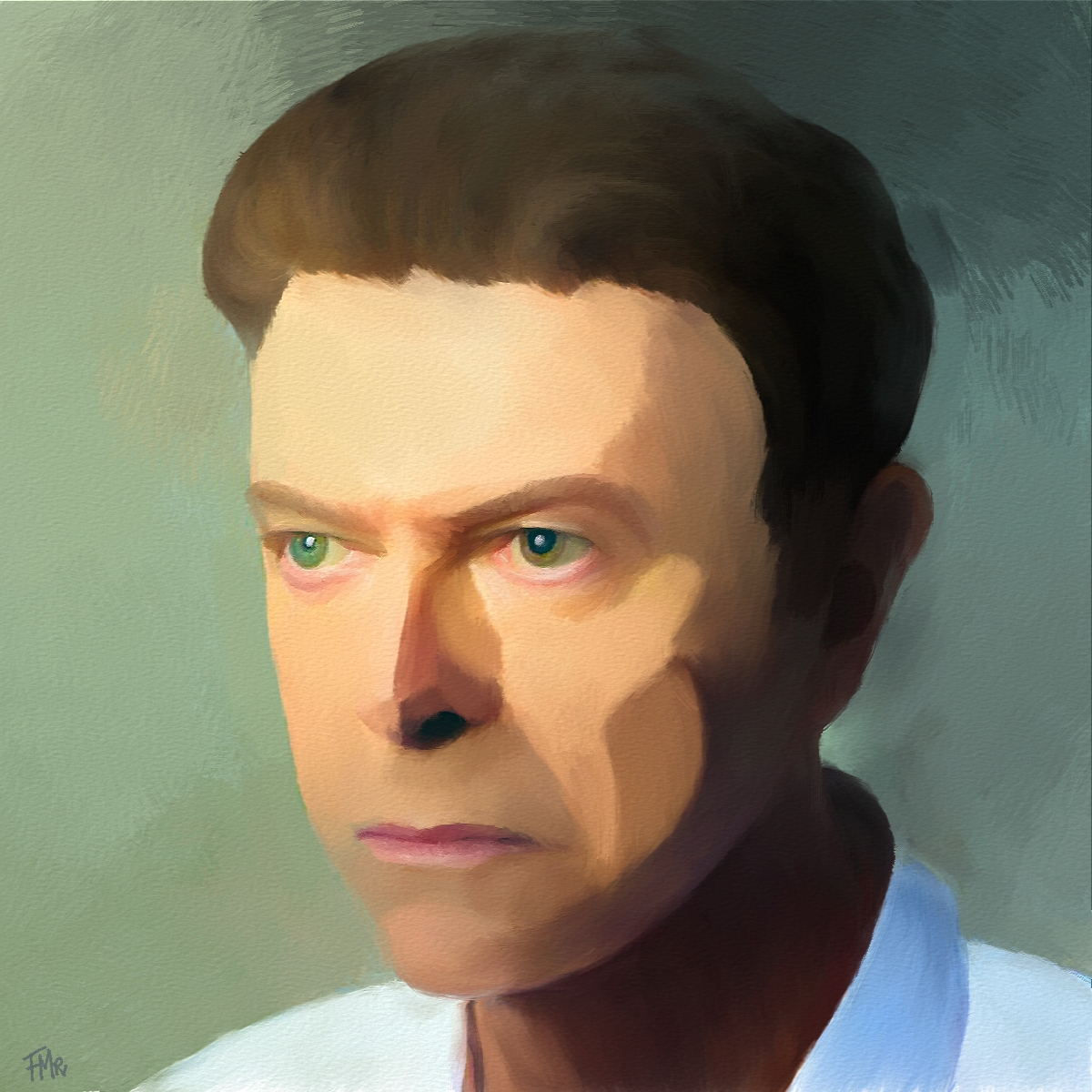 David Bowie by Saltwater