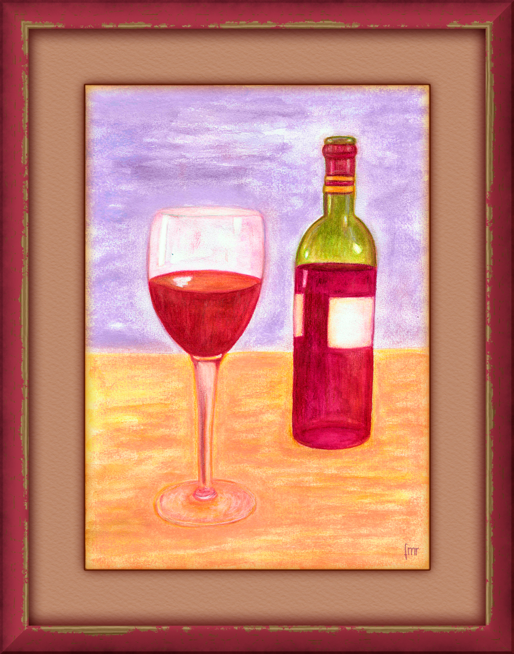 Red Wine by Saltwater
