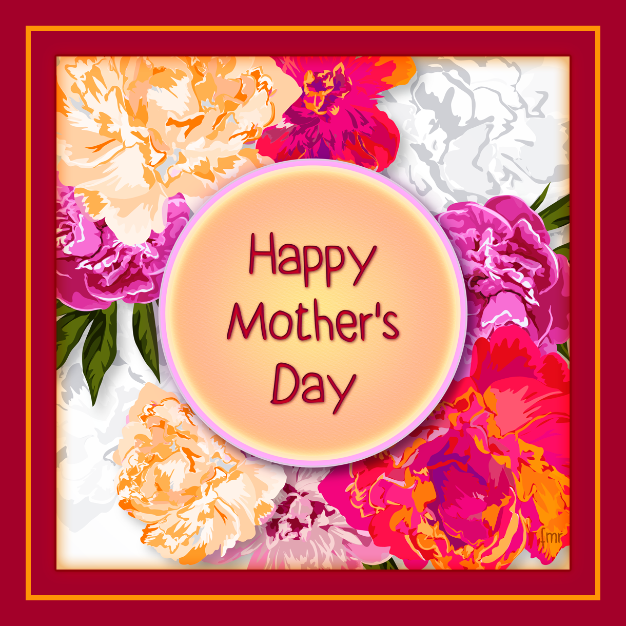 Card - Happy Mother's Day by Saltwater