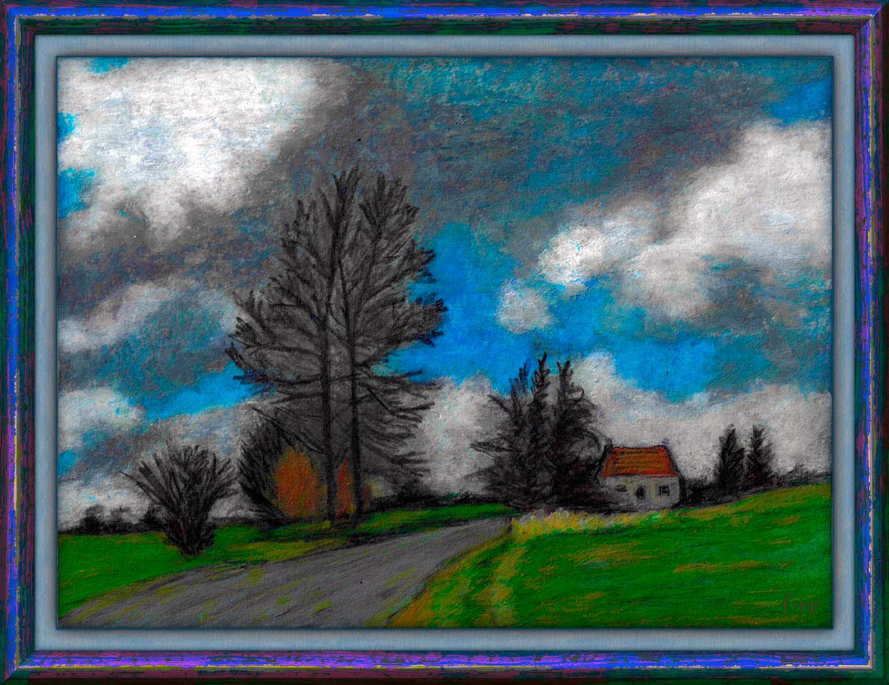 Grey Sky by Saltwater