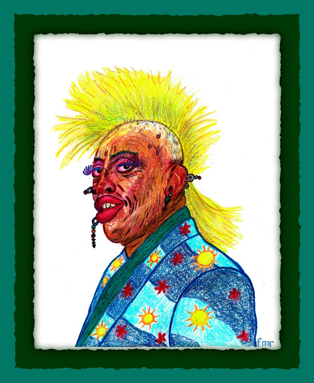 Dennis Rodman by Saltwater