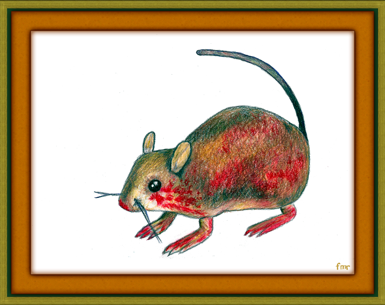 Bloody Rat by Saltwater