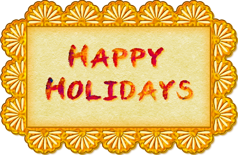 Banner - Happy Holidays by Saltwater