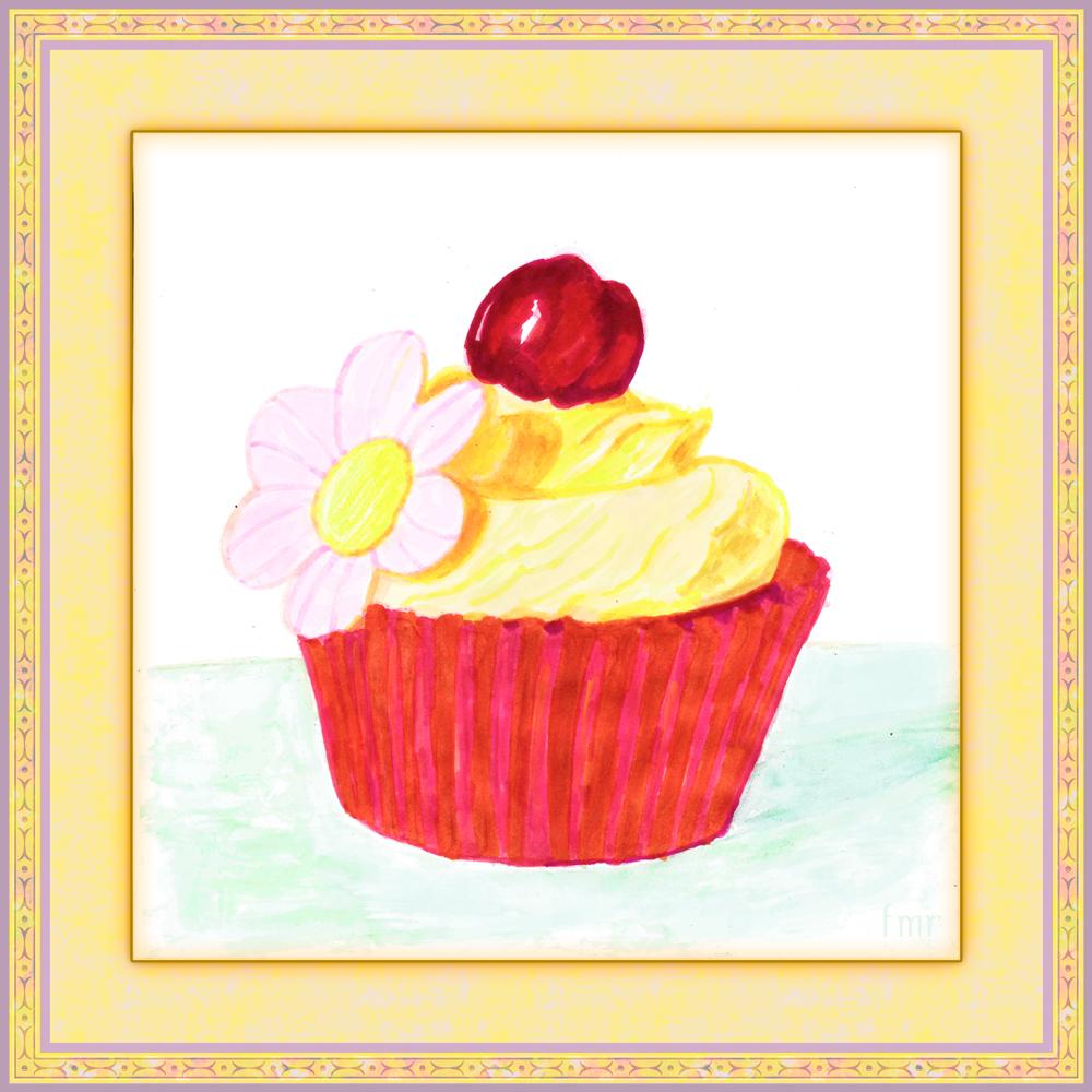Vanilla Cupcake by Saltwater