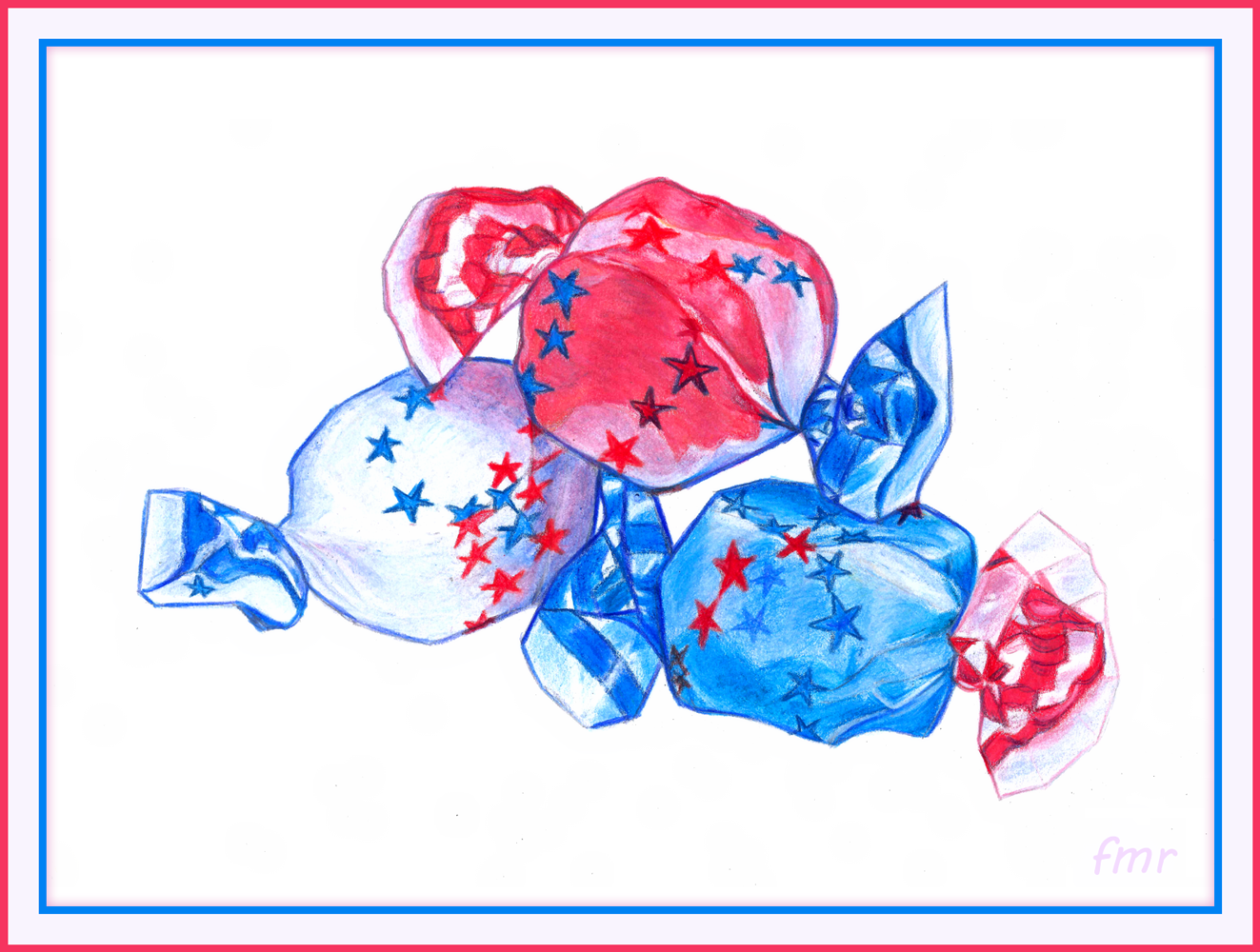 Patriotic Sweets by Saltwater