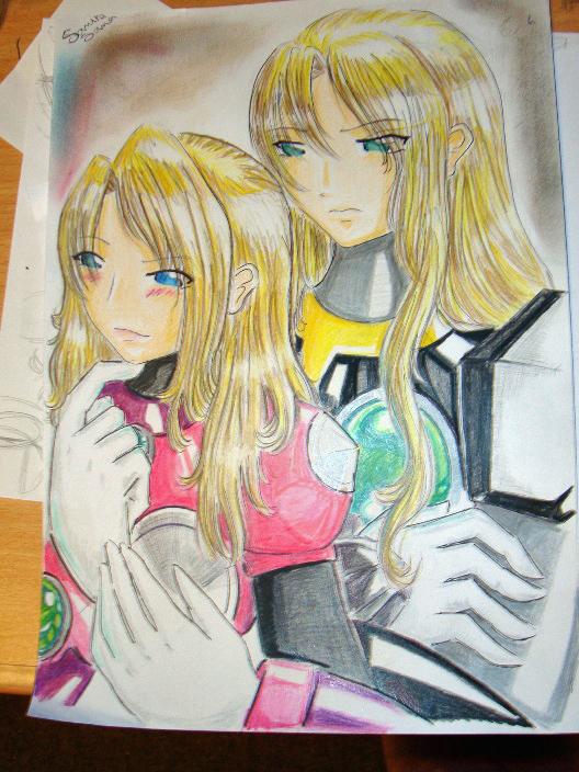 Alia and Zero by SamElmis91