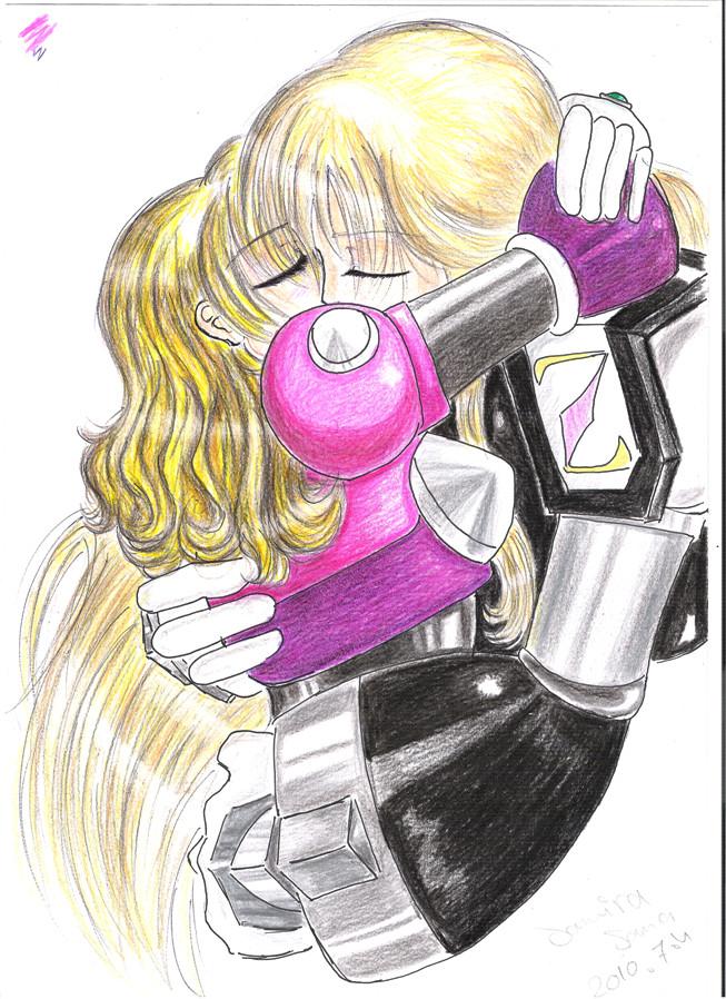 A hug...............? by SamElmis91