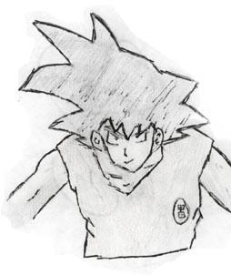 Goku by SamuraiXxx85