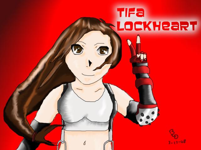 Tifa For DarkAngelofDoom13 Contest by SandyDeath