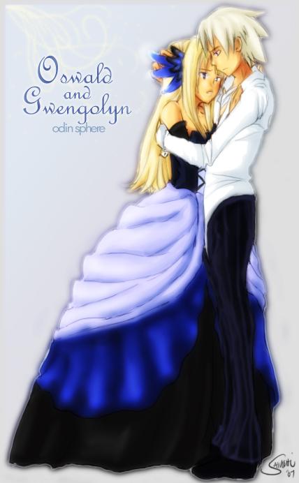 Gwendolyn and Oswald by Sanoshi