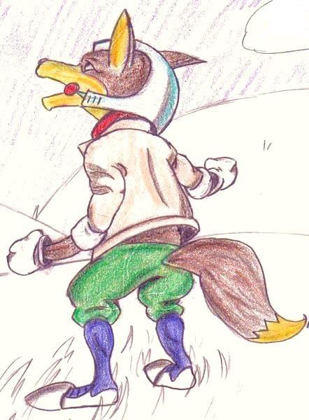 Fox McCloud by ScarHeart666