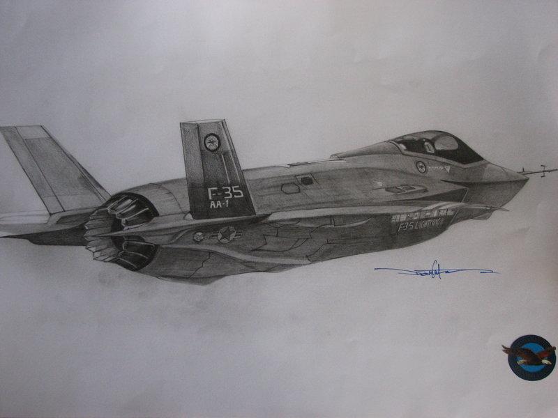 AA-1: F-35 Lightning II by Schwarze1