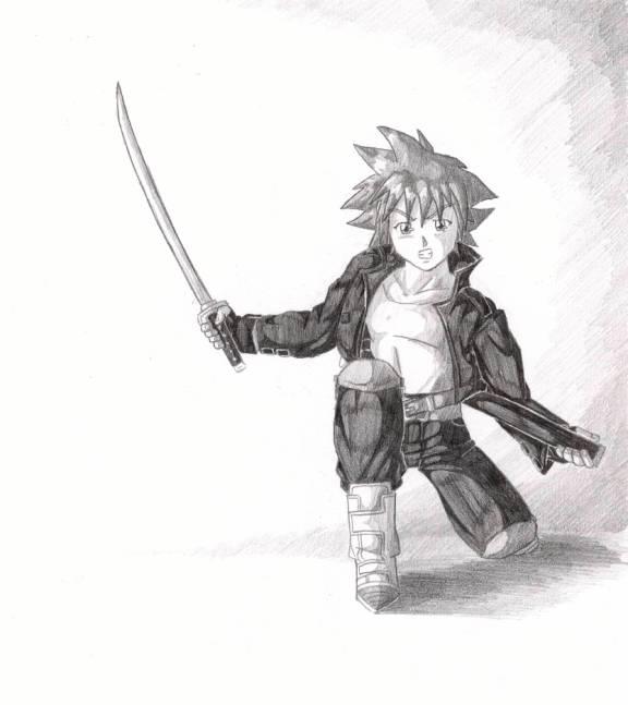Sora: Battle Ready by SeanHalnais