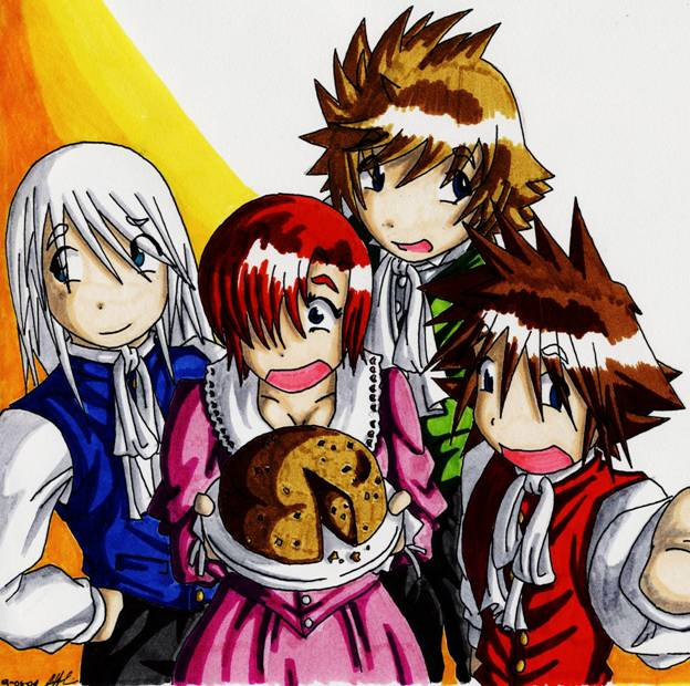 Anime Holidays by SeanHalnais