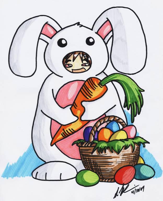 The Blushing Bunny by SeanHalnais