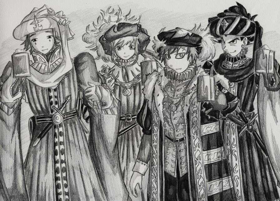 The Aristocracy by SeanHalnais
