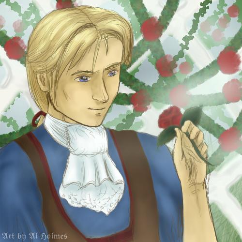 Raphael's Rose Garden by SecretxLink