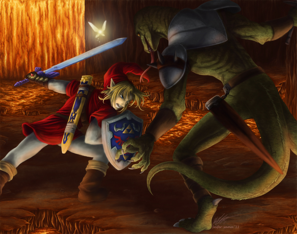 Beast of the Inferno by Seifer-sama