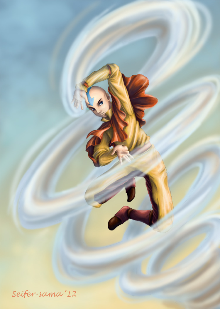 Air: Aang by Seifer-sama