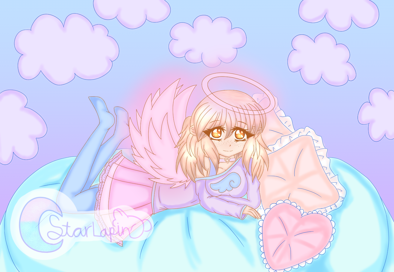 Comfy Angel~ by Seina