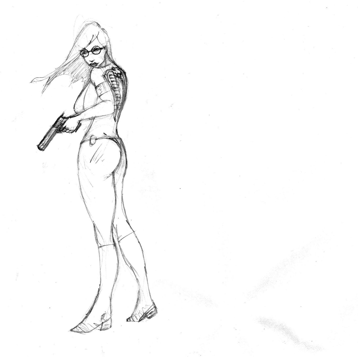 baroness wears a bikini? by Selkirk
