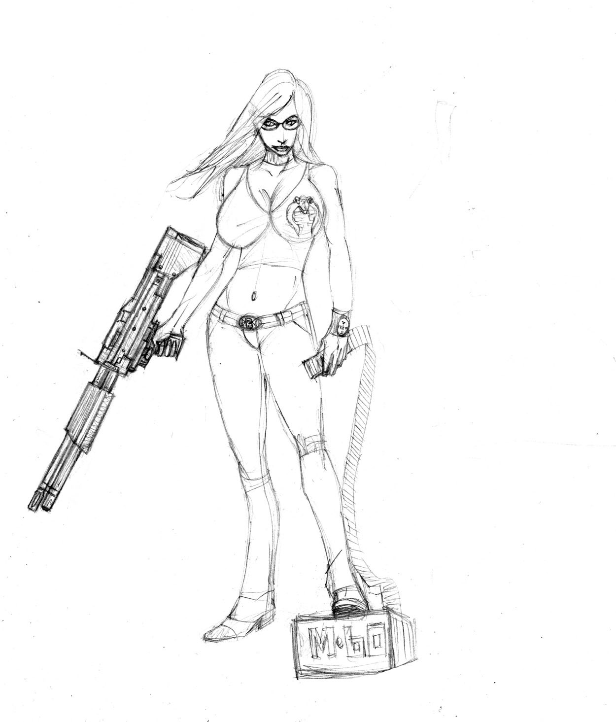baroness has an m60? by Selkirk