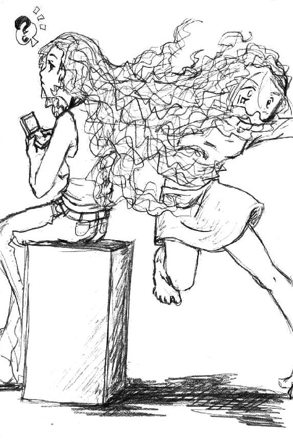 The Man-Eating Hair O___o by SenayDragon