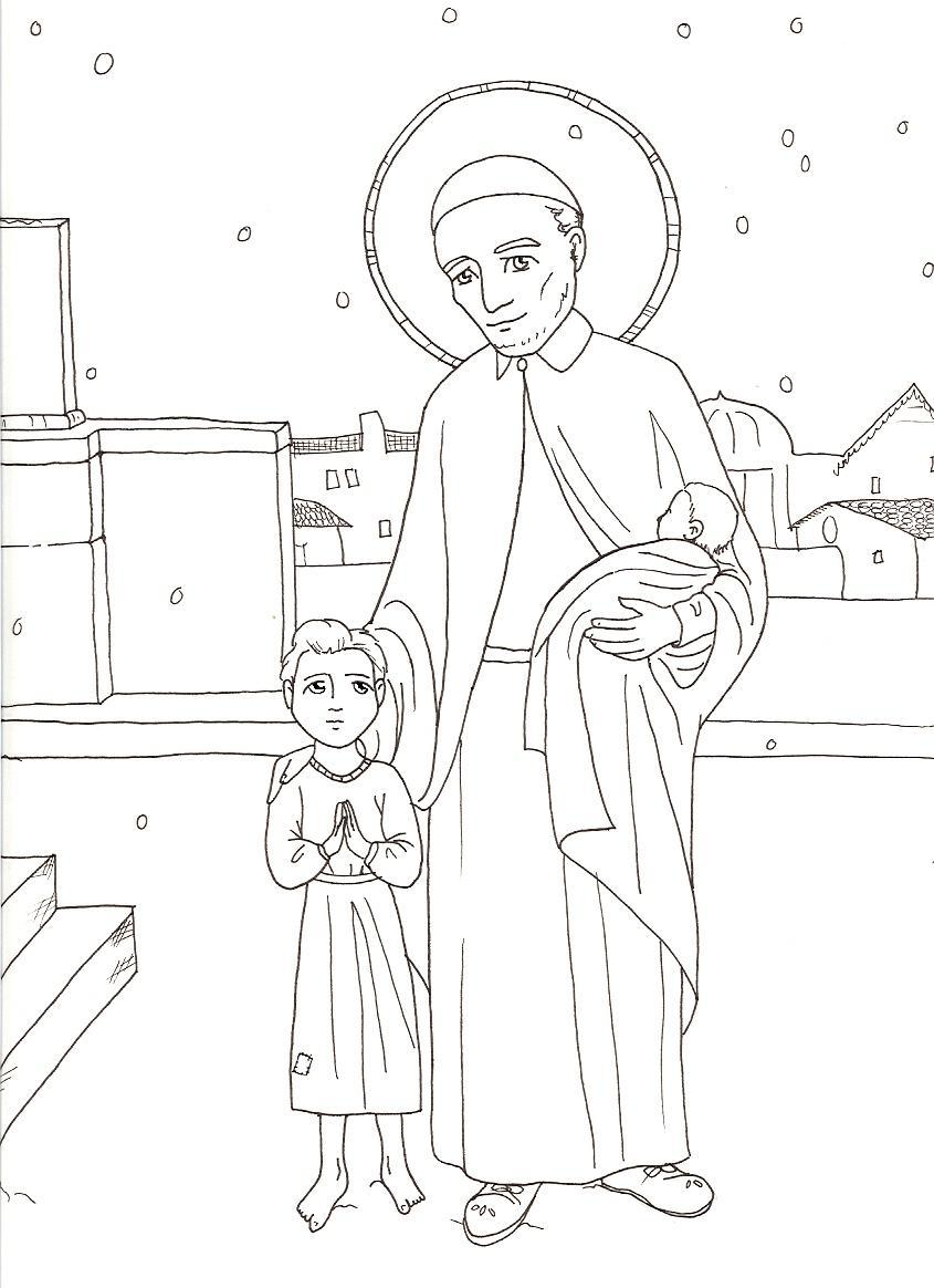 Free Coloring Pages Of St Paul