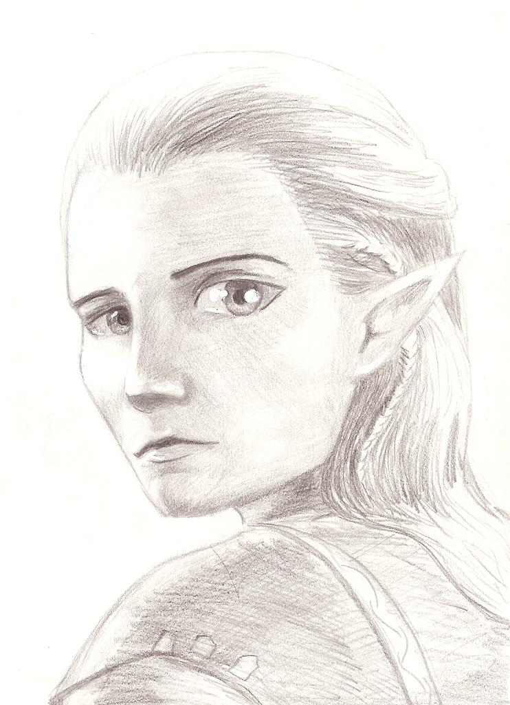 Legolas by Sepia