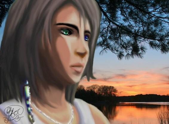 Yuna FFX by SerenityWheeler