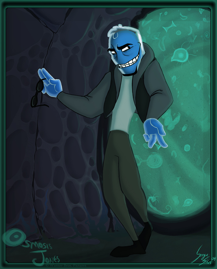 Osmosis Jones by SergeStiles