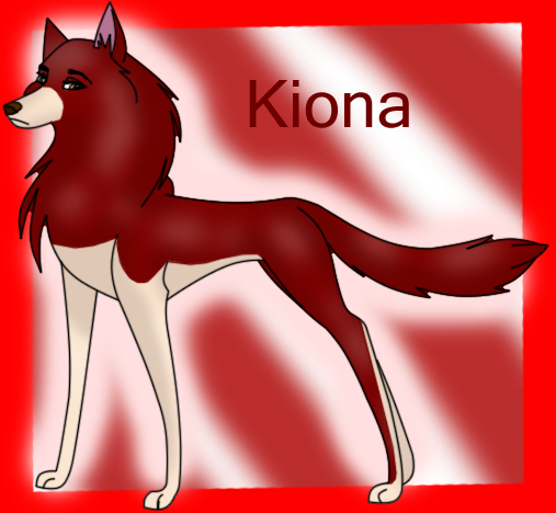 Kiona ( For CatWhoHas14Tails ) by Serra20