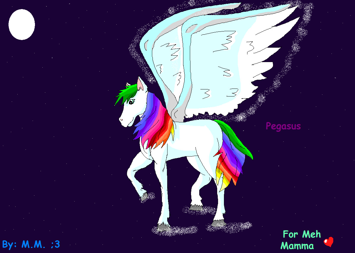 Pegasus by Shadamy4eva