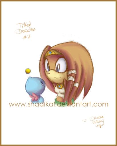 Tikal doodle 7 by Shadikal