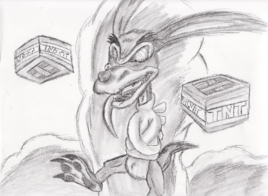 Ripper roo in the day. by Shadow-Lugia-XD001