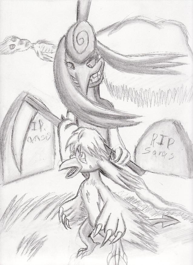 Death from above. by Shadow-Lugia-XD001