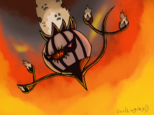 HellFire the Chandelure by Shadow-Lugia-XD001